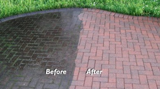 Pressure Washing Before and After Results