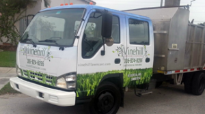 Vinehill Lawn Care owns and operates their own equipment